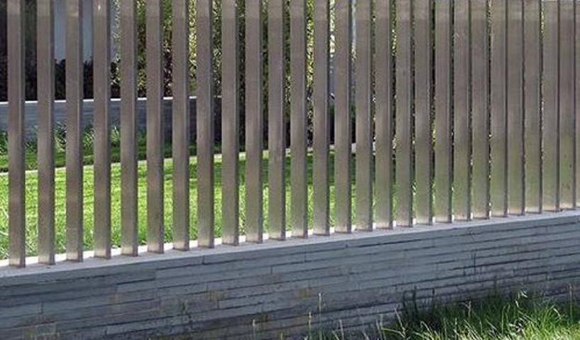 Phong thủy cho tường rào quanh nhà