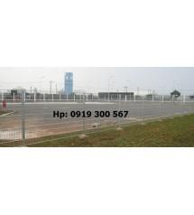 Sản xuất hàng rào lưới thép